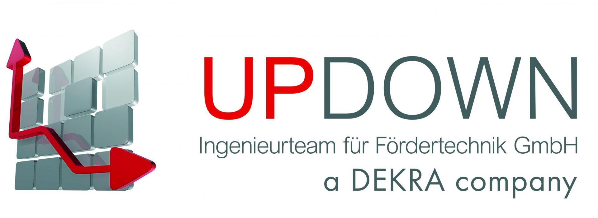 Updown Ingenieurteam für Fördertechnik Logo